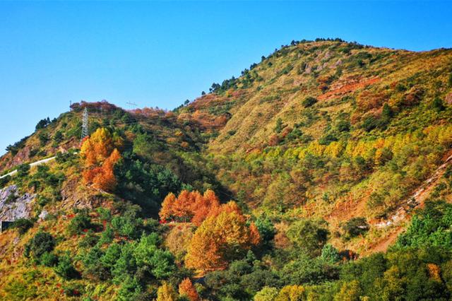 旅游丨航拍云南昭通秋景 色彩斑斓如童话世界