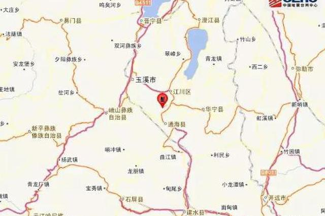云南玉溪通海县9日凌晨发生3.1级地震
