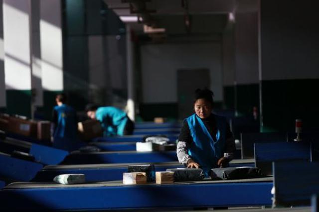 云南最大最先进智能包裹分拣机可日处理包裹70万件