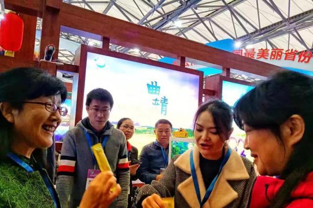 """2018中国上海国际旅游交易博览会""""好在曲靖""""吸人眼球"""