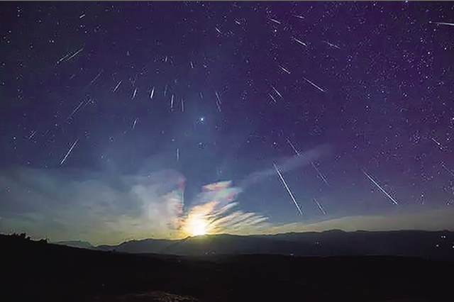 双子座流星雨本周五大爆发 峰值每小时120颗!