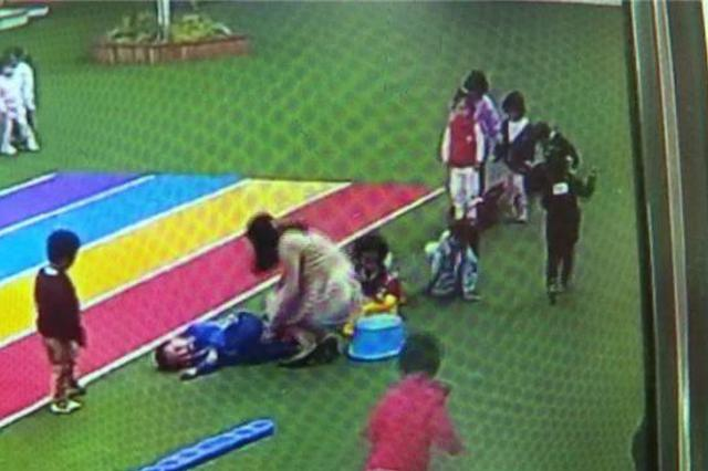 昆明4岁男孩幼儿园里不慎摔倒 致十级伤残