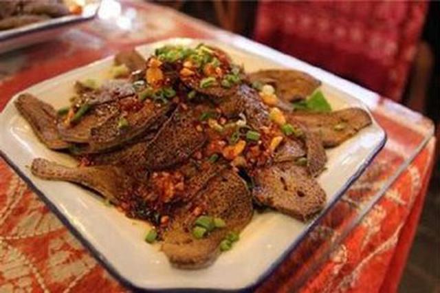 美食丨云南白族特色菜:凉拌吹猪肝