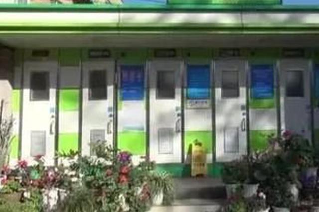 视频丨昆明一公厕管理员与父亲坚持五年 打造鲜花公厕