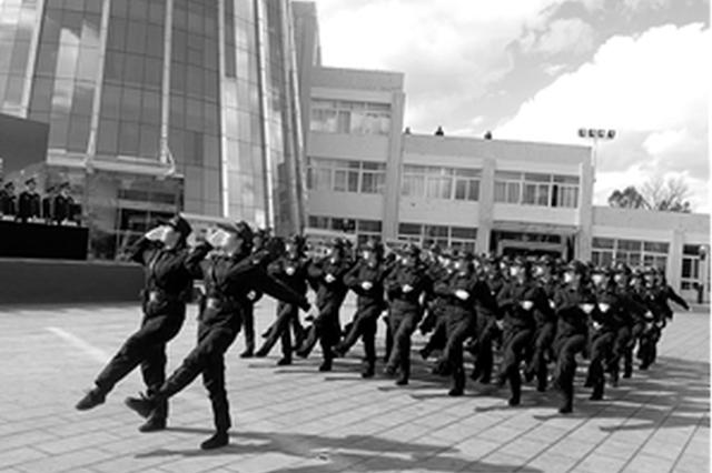 云南375名新警结束岗前培训 汇演迈出从警生涯第一步