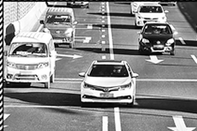 昆明二环沿线8个电子抓拍启用 10天抓拍万余起违法车辆