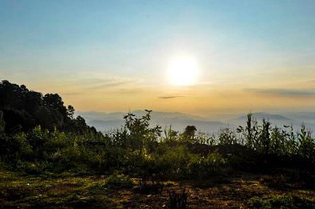 视频丨云南:这个冬天来哀牢山看云海日出