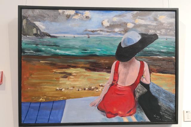《色彩的奇幻漂流—施慧个人油画作品展》在艾维美术馆举行