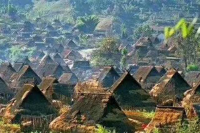 云南临沧沧源佤山从原始部落变身美丽县城