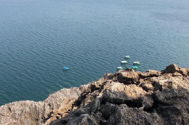 视频丨澄江立夏节 到禄充风景区踩沙滩玩水