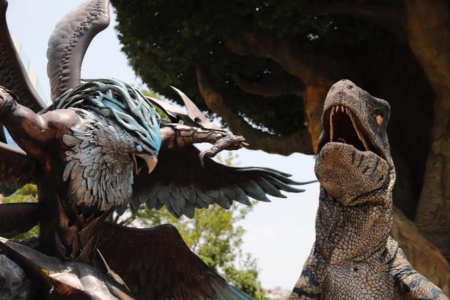 520恐龙来了 等待两亿年只为拥抱你