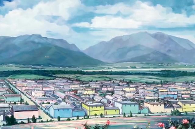 视频丨美不胜收!丽江九色玫瑰盛开的彩绘小镇