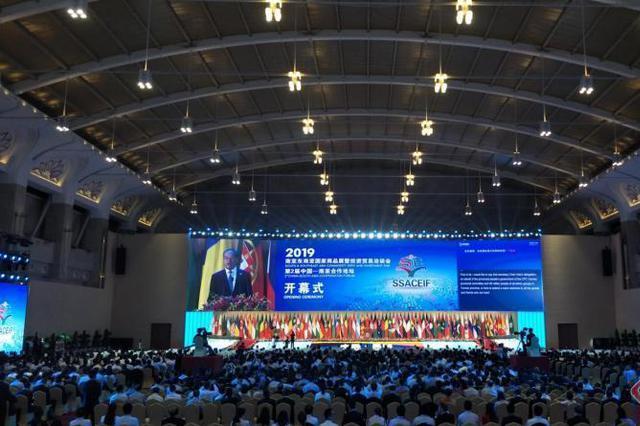 2019南亚东南亚国家商品展暨投资贸易洽谈会在昆开幕