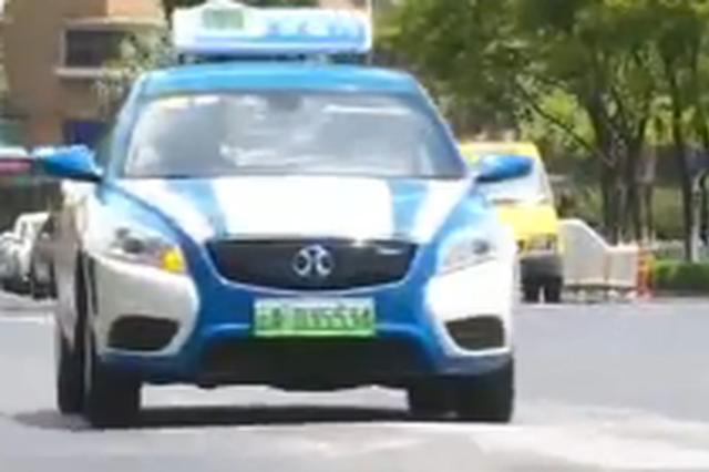 7月1号起 昆明出租车到期报废后必须用纯电动车
