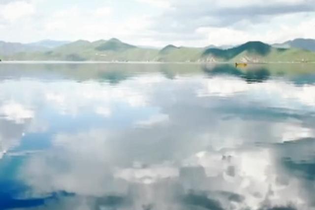 视频丨云南泸沽湖 宛如美丽新娘的头纱