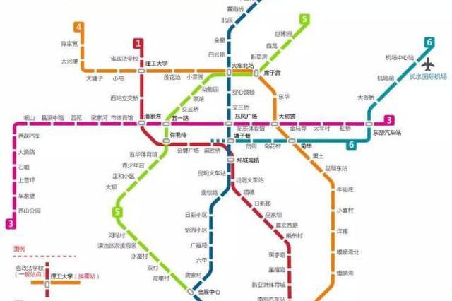 昆明地铁5号线滇池学院站主体结构封顶