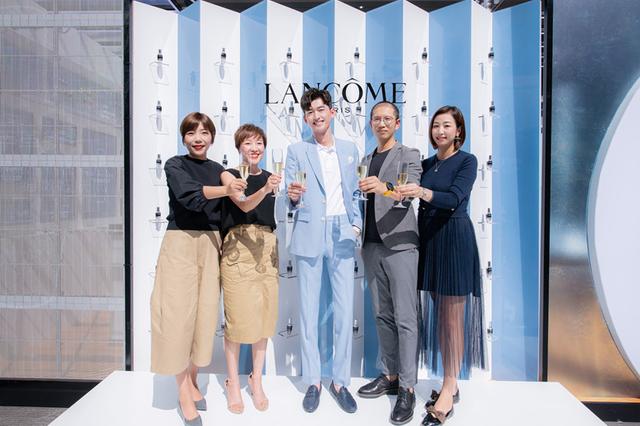 张翰倾情亮相Lancôme兰蔻昆明百盛购物中心超级品牌周