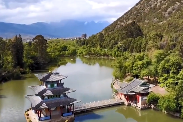旅游丨在洒满阳光的院落 遇见丽江风情古城