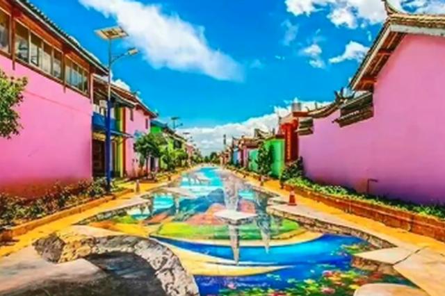 旅游丨丽江玫瑰小镇 艺术感十足的传统庭院房屋