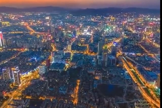 视频丨航拍云南昆明 城市发展辉煌大气让人震撼