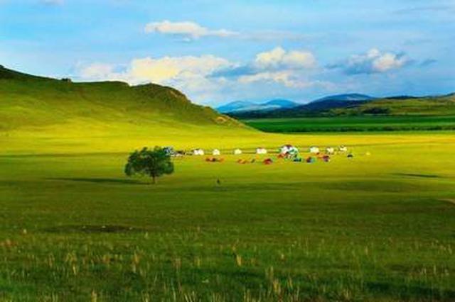 诗意的依拉草原