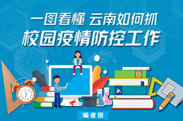 开学在即!一图看懂云南如何抓校园疫情防控工作