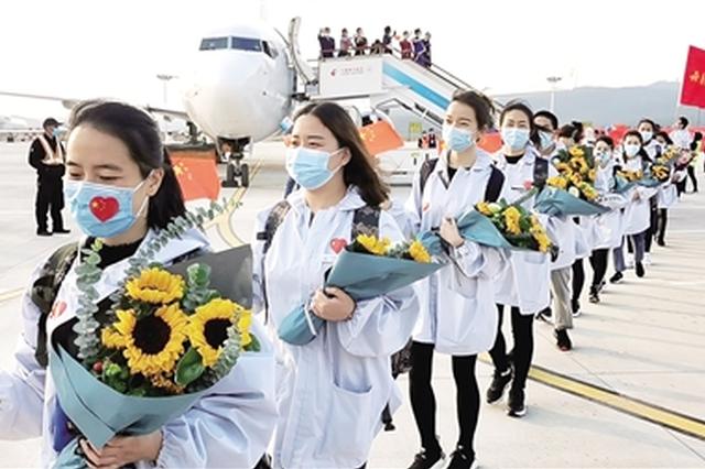 英雄回家!云南援助湖北医疗队首批205名队员平安归来