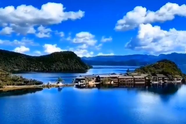"""视频丨雨过天晴的泸沽湖 感受""""人间仙境""""的静美!"""