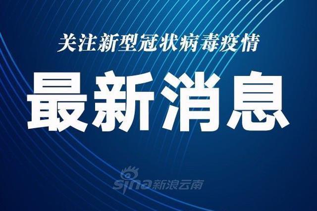 云南省新增1例境外输入确诊病例