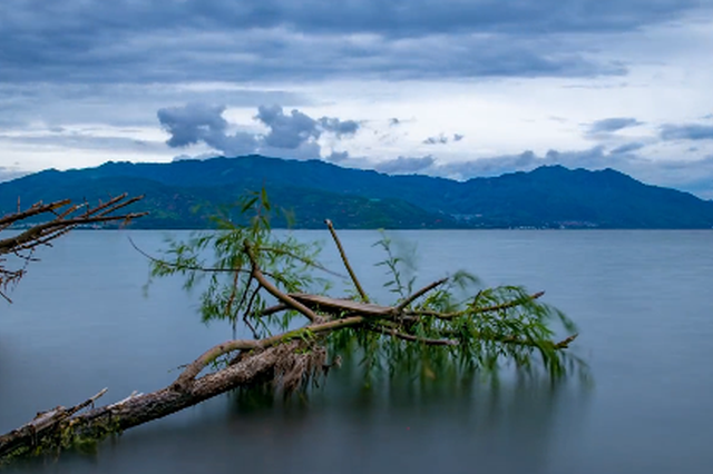 视频丨炫丽抚仙湖:远山近水 幽深奇崛的山水画卷