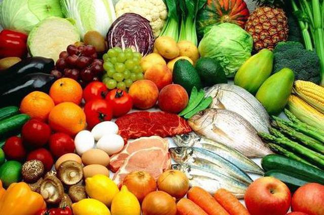 云南蔬菜肉類零售價環比下跌