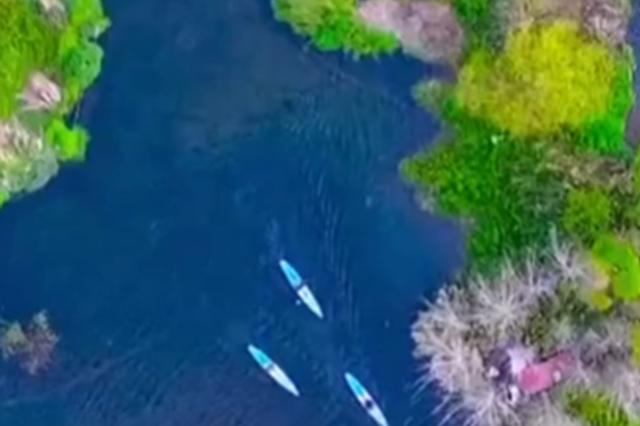 """划着桨板去巡河——皮划艇上的""""市民河长"""""""