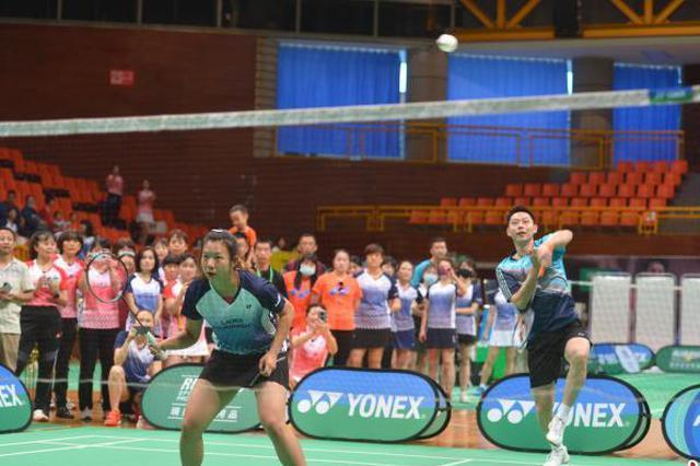 女子羽毛球赛昆明分站赛开拍 前世界冠军刘小龙助阵
