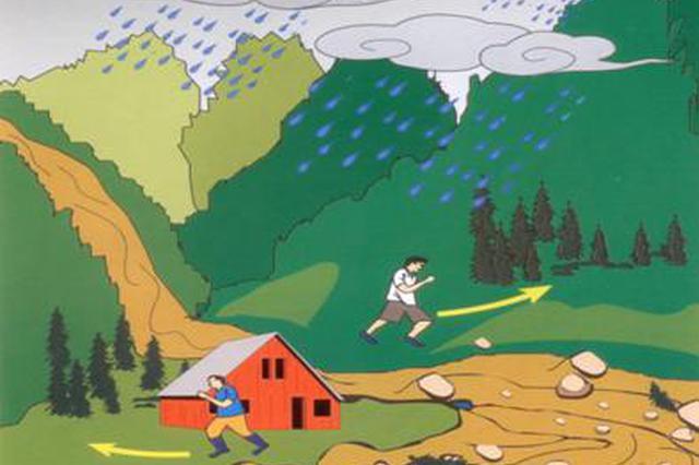 云南省水利厅、省气象局联合发布山洪灾害气象预警