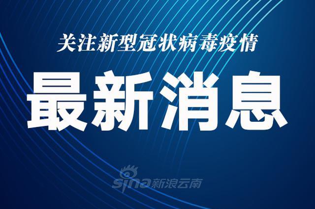 云南新增本土确诊病例3例 新增境外输入确诊病例5例