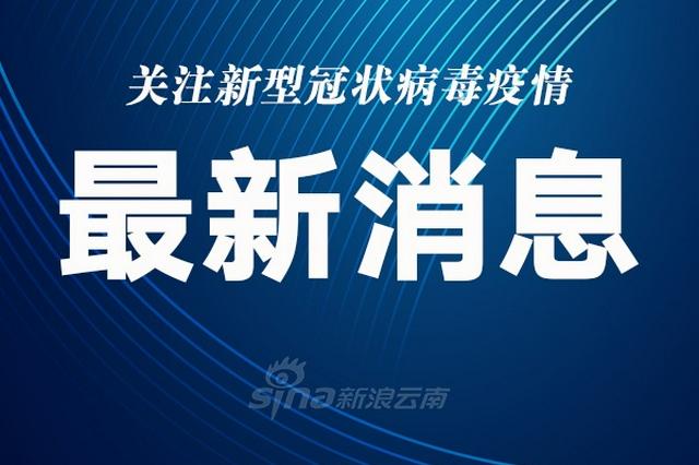 云南省新增新冠肺炎本土确诊病例9例