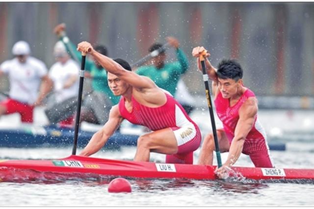 男子1000米双人划艇 云南名将刘浩晋级半决赛