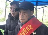 阔别76年 92岁抗战老兵清明回乡祭祀