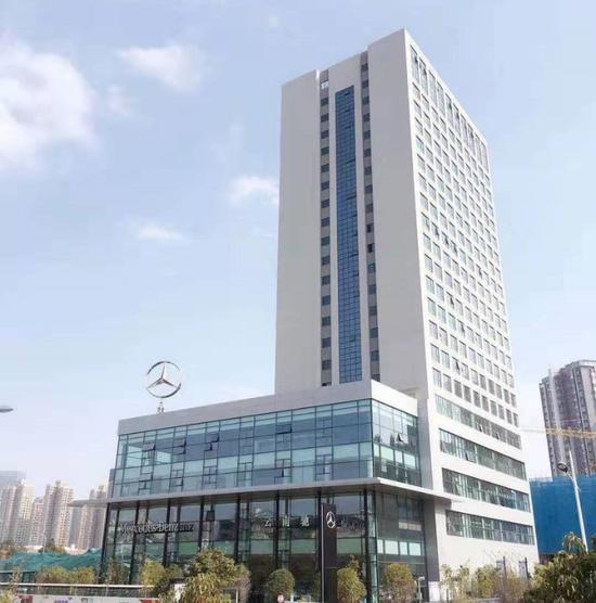 现房呈现 云南驰星奔驰5S店于2019年5月开业
