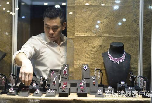 台湾精品馆珠宝展示