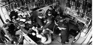 商店监控视频截图