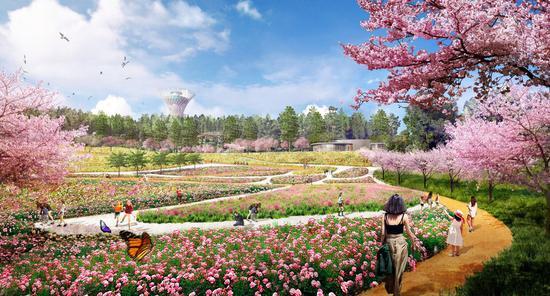 昆明世博园创新改造暨大型文化旅游综合项目集中开工