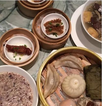 ▲颐和东饮庐的餐点