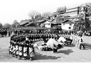 丽江展区将展演10场原汁原味的文化节目
