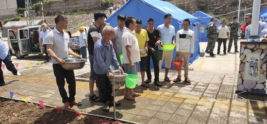 灾民安置应急供水