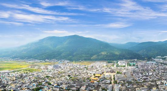 剑川县城全貌