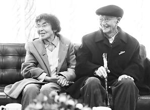 戴永年院士和赵瑞芳教授