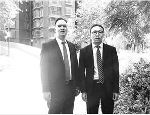 李福龙和黄泽彪