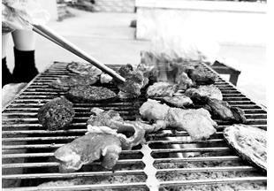烤五花肉,走一波。