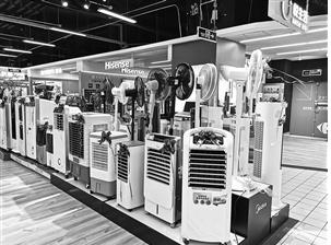 空调、风扇、加湿器品种多样